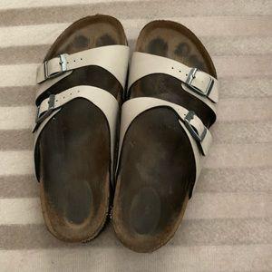 Birkenstock Tan Double Strap Arizona Sandal Sz 39